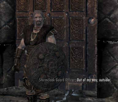 Stormcloak Guard Officer from -generic- file