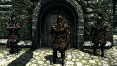 Sleeved Imperials--Legate Armor-Guards At Castle Dour--Darker Imperial Retexture