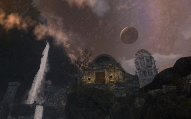 Moon over Markarth