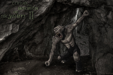 Cave Troll Wallpaper
