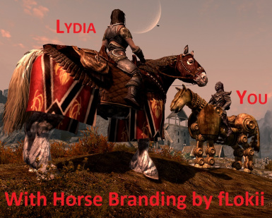 With Horse Branding by fLokii