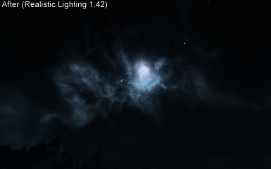 Nebula - Realistic Lighting