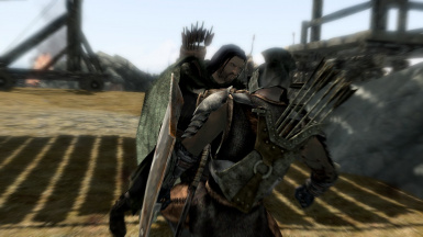 Aragorn Slays Uruk