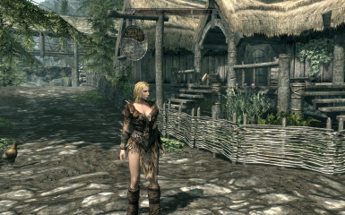 boots; Version without collar & Saviors armor female replaces dragonplate armor at Skyrim Nexus ...