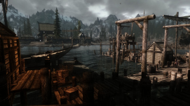 View from Solitude Dock District