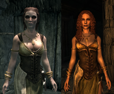 Narri from Falkreath-Epervine - Vanilla VS with mods