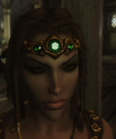 Gold and Emerald Circlet