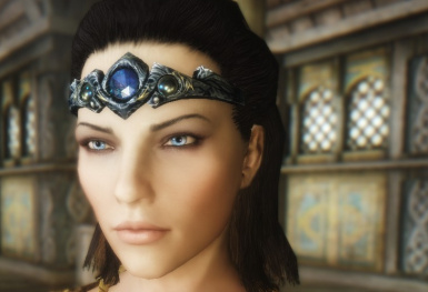 Silver and Sapphire Circlet