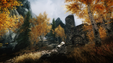 Silgrad Pass Gate and Better Dawnguard Entrance version