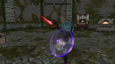 Iban Staff - Elemental Shield