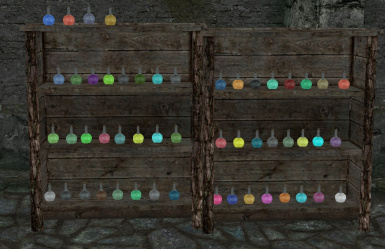 All of the potions are in game