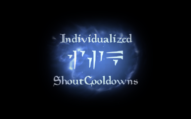 Individualized Shout Cooldowns