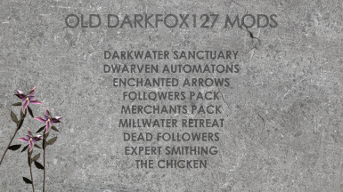Darkfox127 - Old Projects