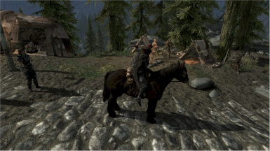Additional Caravan posts at Solitude - here - Morthal and Dawnstar wait for the path to be cleared by you