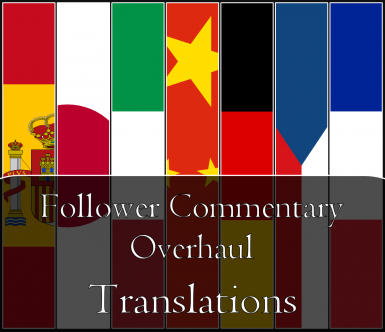 Follower Commentary Overhaul - Translations