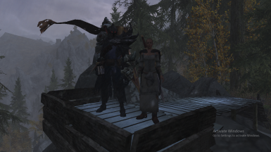 Rigmor accompanied by Radukaz 'the first Nightmare'