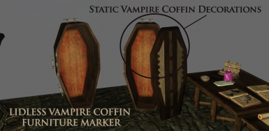 Vampire coffin stuff
