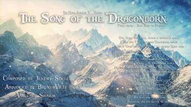 BrunuhVille feat Sharm - The Song of the Dragonborn