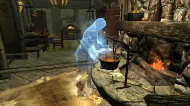 Katria Sandboxing in a HFKitchen using My Home is Your Home Mod