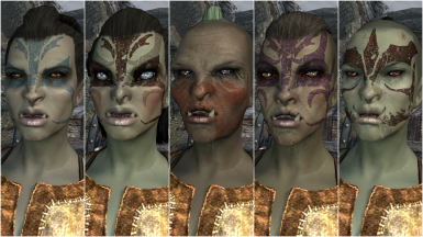 Female Orc Presets