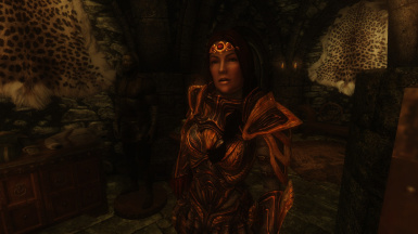 Arissa in Amber Armour