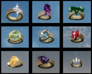 DovahBling Jewelry Rings Necklaces Bracelets at Skyrim Nexus