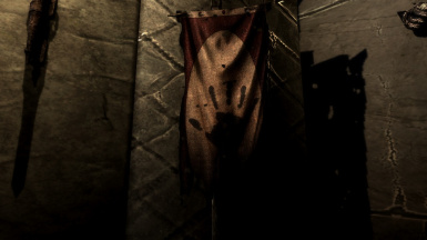 Burnt Dark Brotherhood banner