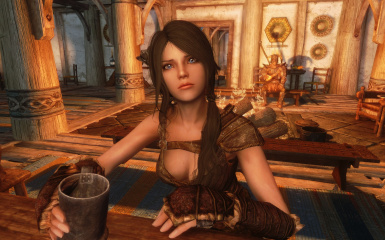 Sofia - The Funny Fully Voiced Follower at Skyrim Nexus