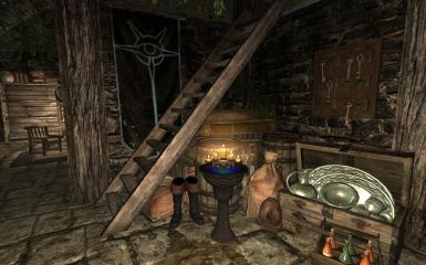 Riften Canal Home - Interior