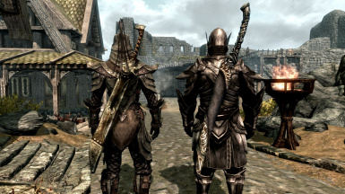 Orcish and Ebony Greatswords