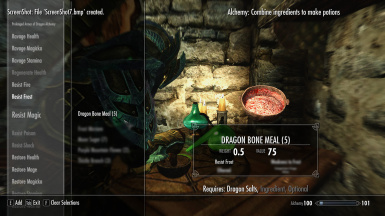 Dragon Alchemy - Dragon Bone Meal - Adjusted