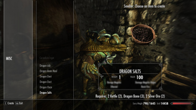 Dragon Alchemy - Dragon Salts - Smelter