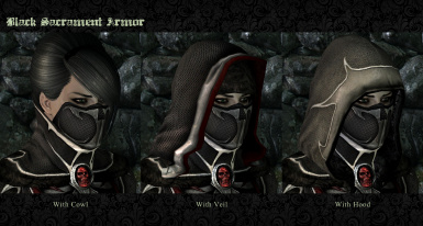 Headgear options