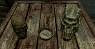 Skulls to Bone Meal at Skyrim Nexus - mods and community