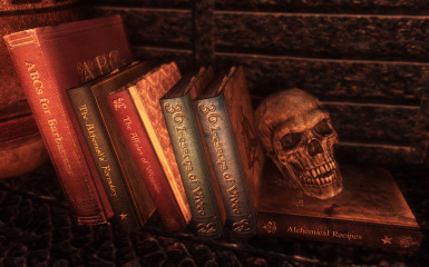 Book Covers Skyrim - Lost Library