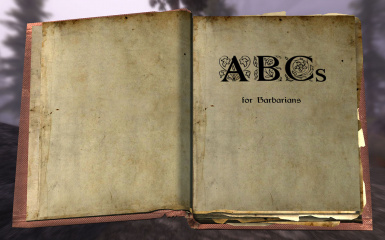 ABCs for Barbarians - page 1