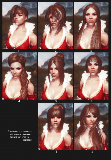 Female Hairstyles With Physics At Skyrim Nexus Mods And Community