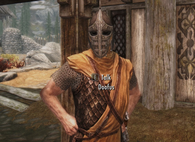 Whiterun guard properly renamed