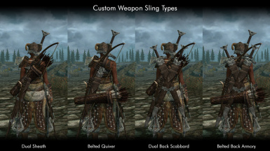 Custom Weapon Slings - Visual Guide