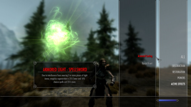 Light armor effects