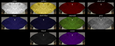 Armor Cowl Color Options