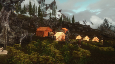 My additions blending into Reach Imperial Camp