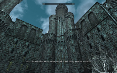 Castle Volkihar Courtyard 2