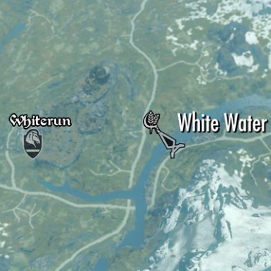 Map White Water