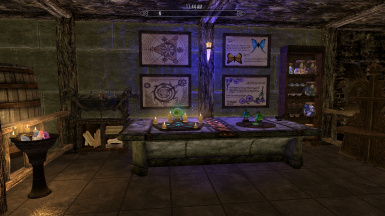 Alchemy and Enchanting section