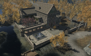 Aerial view Heartwood Keep