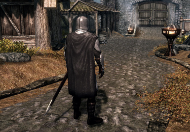 Back cuirass with Cape