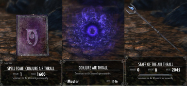 Conjure Air Thrall
