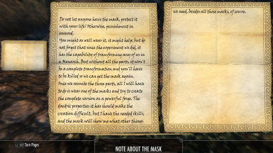 Note about the masks