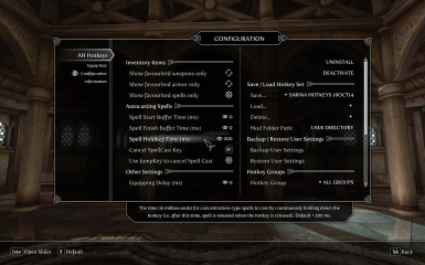 AH Hotkeys - Skyrim Hotkey Manager at Skyrim Nexus - mods and community